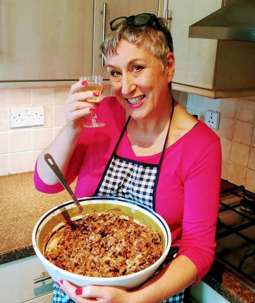 Karen Wright Great British Bake Off
